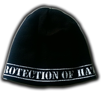 PROTECTION OF HATE - Mütze PROTECTION OF HATE schwarz front