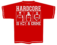 PROTECTION OF HATE - T-Shirt CRIME rot back