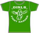 PROTECTION OF HATE - Girlie Girls fight harder grün