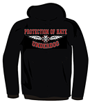 PROTECTION OF HATE - Kapu UNDERDOG schwarz