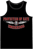 PROTECTION OF HATE - Muskelshirt UNDERDOG schwarz