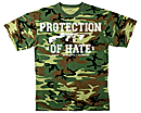 PROTECTION OF HATE - T-Shirt CRIME camouflage