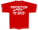 PROTECTION OF HATE - T-Shirt CRIME rot