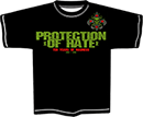 PROTECTION OF HATE - T-Shirt TEN YEARS OF HATE schwarz