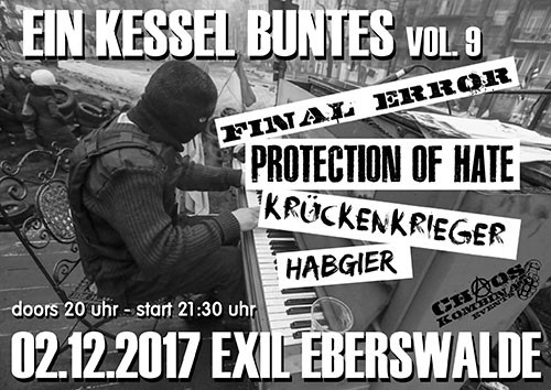 Protection of Hate - Ein Kessel Buntes